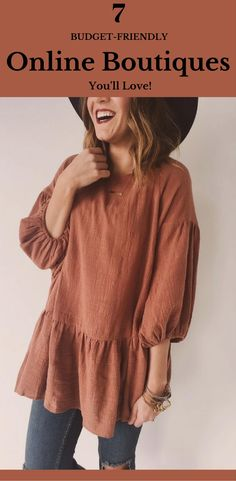 The best quality boutiques for women!  Fashionable // Trendy // cute //  Clothing that you won't be able to pass up!  Inexpensive boutiques // ROOLEE // Shop Stevie // RAISNG WILD SWIM // RUBY CLAIRE //