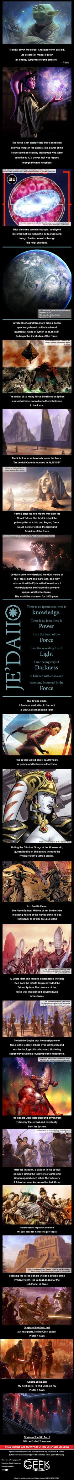 Origins of the Jedi (Star Wars History)