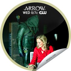 Arrow: Darkness on the Edge of Town Sticker | GetGlue