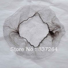 wholesale brand new dark brown Invisibale nylon hairnet for wigs / hair wear / hair ornament / net cap Nylons, Hair Ornaments, Hair Extensions, Dark Brown, Winter Hats, Cap, How To Wear, Wigs, Ornament