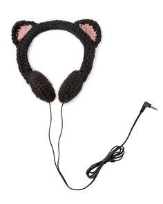 Knit headphones
