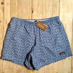 NWT Women's Patagonia Baggies Shorts on Mercari Patagonia Baggies, Casual Shorts, Running, Summer, Closet, Outfits, Women, Fashion, Moda