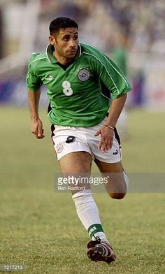 Yasser Radwan of Egypt in action during the African Nations Cup against Tunisia played at Kano Nigeria The match finished 01 Mandatory Credit Ben...