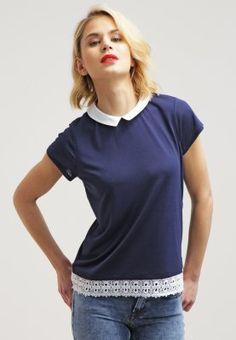 Pedir NAF NAF CLOTILDE - Camiseta print - bleu marine chine por 27,95 € (9/03/16) en Zalando.es, con gastos de envío gratuitos.