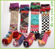 Happy French Knee socks!.