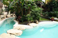 Beautiful oasis pool at La Tortuga Hotel & Spa