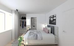 Weiße #Möbel in Kontrast zum schönen Dielenboden aus #Echtholz. Dazu ...