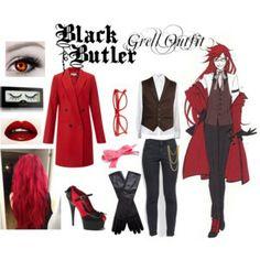 black butler inspired outfits   Black Butler - Sebastian - Polyvore