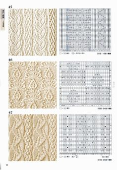 """herminehesse:  """" knitting patterns - keepers  """""""
