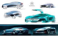 Car Design Portfolio on Behance