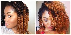 Flat twist out curls Follow for more styles http://www.yeahsexyweaves.tumblr.com