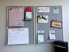 Maak zelf je georganiseerde memobord. Hoe een kurken prikbord schilderen, waarom kurk mijn voorkeur heeft en wat er op mijn prikbord hangt: lees het hier. Diys, Gallery Wall, Board Ideas, Bulletin Board, Frame, Party, Home Decor, Picture Frame, Plank