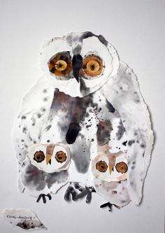 My Owl Barn: Bird Collages by Olga Ezova-Denisova