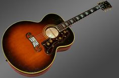 1951 Gibson SJ-200. This and more important musical instruments for sale on Curatorseye.com