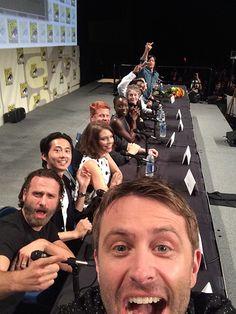 Chris Hardwick takes a selfie...