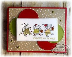 Oksana's Creative Corner: Christmas Team Stamp It Blog Hop