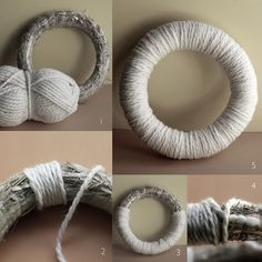 Encouraged by Kitten Lost her Mittens Halloween yarn wreath tutorial , I decided to give it a try too. Recently I have been busy rearranging...