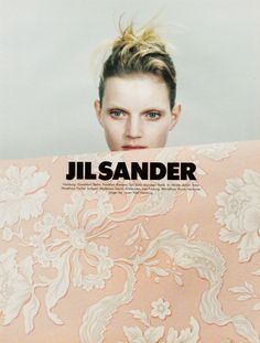 Jil Sander Ad Campaign Spring/Summer 1996 Photographer: Craig McDean Model: Guinevere Van Seenus Has your opinion of the industry chang. Craig Mcdean, Jil Sander, Fashion Advertising, Advertising Campaign, Campaign Posters, Fashion Marketing, Creative Advertising, Guinevere Van Seenus, Core Exercises