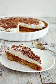 Wegańskie banoffee bez cukru i glutenu1 Healthy Cake, Vegan Cake, Healthy Sweets, Vegan Desserts, Raw Food Recipes, Snack Recipes, Dessert Recipes, Dessert Sans Gluten, Sweet Cakes