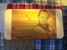Buster Cutting Board  on Etsy, $25.00 CAD