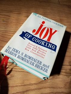 Check out this item in my Etsy shop https://www.etsy.com/listing/606983495/cookbook-joy-of-cooking-foodie-gift-idea