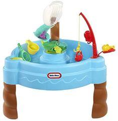 Amazon.com: Little Tikes Fish 'n Splash Water Table White : Toys & Games