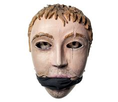 Picture of a soldier' mask