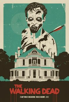 The Walking Dead Poster - http://zombies.futtoo.com/the-walking-dead-poster #zombies