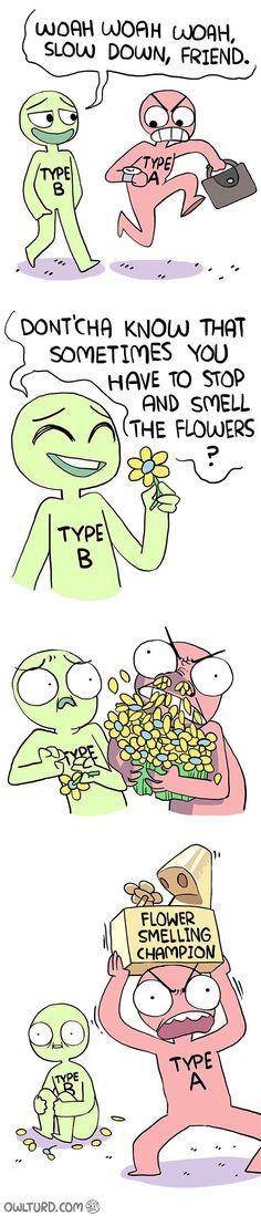 Type A vs Type B