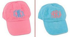 Love this hat from Marley Lilly...cute for a day of boating or the beach!
