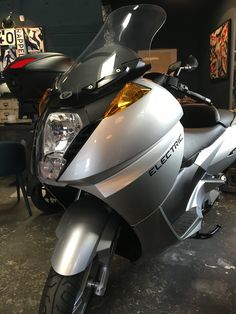 Scooters, Riding Helmets, Motorcycle, Hats, Vehicles, Barn, Hat, Motor Scooters, Motorcycles