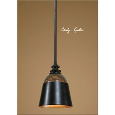 Uttermost Madera Oil Rubbed Bronze Mini Pendant 21959