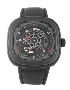 SevenFriday P3 P3/01. Great watch to accompany a nice sports car!