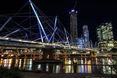 Kurilpa Bridge in Australia