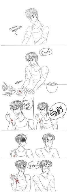 Attack on Titan ~~ You'd think he had never held a blade before... :: Jean and Marco