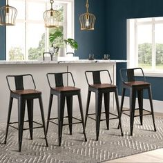 Williston Forge | Wayfair.ca 26 Bar Stools, Metal Bar Stools, Counter Bar Stools, Swivel Bar Stools, Bar Chairs, Dining Chairs, Wood Counter, Office Chairs, Swivel Chair