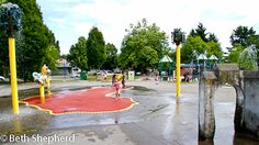 Be cool: Hit the sprayparks in Seattle! So much fun on warm summer days!