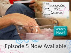Episode 5 of SURRENDER THE SECRET is now available!    In Episode 5, the women learn to understand God's love and to receive His forgiveness, and that the blood of Jesus is greater than any sin ever committed, including their abortion. Vanessa shares with the group that a close friend has come to her for help in a crisis pregnancy situation and is considering an abortion.