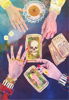 Sophie Bryant-Funnell Illustration - love this! #TarotCard #Future