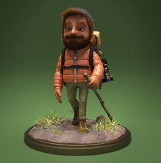 Hiker Character on Behance