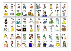 Tombola cartellone Primary Education, Primary School, Birthday Gifts For Husband, Italian Language, Letter Sounds, Diy Birthday, Activities For Kids, Alphabet, Lettering