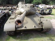 FOR SALE: M-47 ( PATTON ) MEDIUM BATTLE TANK - http://www.warhistoryonline.com/war-articles/sale-m-47-patton-medium-battle-tank.html