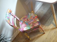 Chair #furniture #decorated. Home #colourful