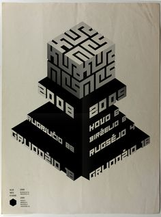 denis kuchta - typo/graphic posters