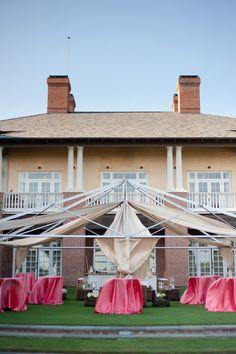open air tent | Nate Henderson #wedding