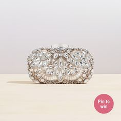Inspired by I do: ALDO's dream wedding contest | Shop our WADE clutch now & Click on the picture for the contest details!