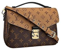 Get the trendiest Cross Body Bag of the season! The Louis Vuitton Pochette Metis Reverse Monogram Canvas Cross Body Bag is a top 10 member favorite on Tradesy. Save on yours before they are sold out! Prada Handbags, Louis Vuitton Handbags, Purses And Handbags, Louis Vuitton Damier, Tote Handbags, Monogram Canvas, Louis Vuitton Pouchette Metis, Ysl, Louis Vuitton Monogram