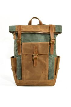 Excellent first time backpacking info are available on our internet site. Take a look and you wont be sorry you did. Waxed Canvas, Canvas Leather, Urban Bags, Canvas Duffle Bag, Vintage Backpacks, Laptop Backpack, Retro, Messenger Bag, Canvas Backpacks