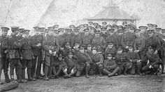 The 1/7ths at Herne Bay, Kent in 1915.