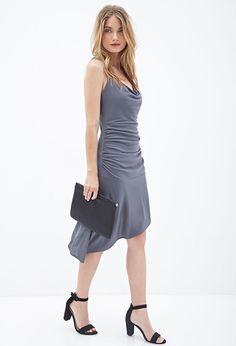 Asymmetrical Scoop Back Dress #F21Contemporary